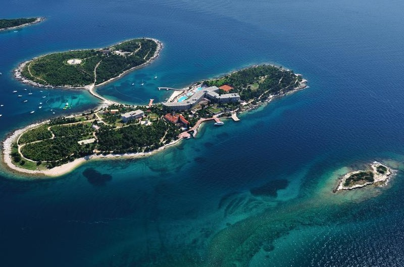 Rovinj-excursions to Lim Fjord with swimming on the island of st, Andrea (Red Island) and swimming on Pirate cave in Lim Fjord chanal